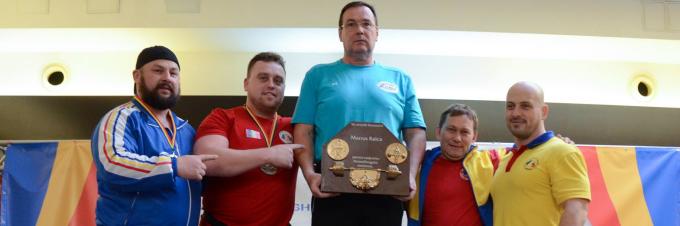 Rezultate Campionatul National de Powerlifting, Impins din Culcat 2016